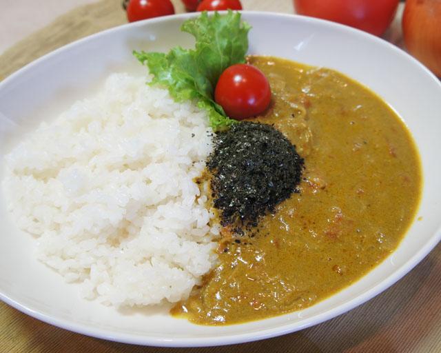 晴れの国から 岡山の海カレー~食べた瞬間口に広がるは海苔の風味、味の深みは牡蠣からの恵み~