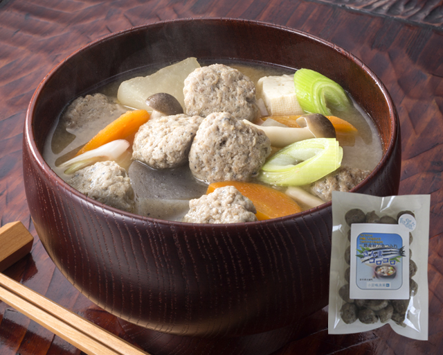 三陸産秋刀魚つみれ さんまコロコロ -つみれ汁-